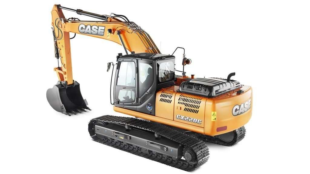 escavadeira hidraulica case cx220c 3