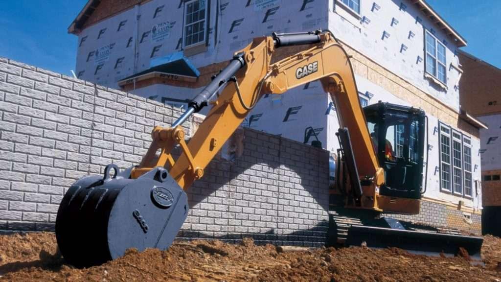 midi escavadeira case cx80 1